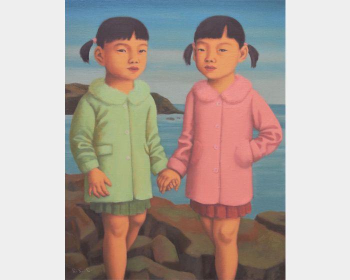 雙胞胎姊妹