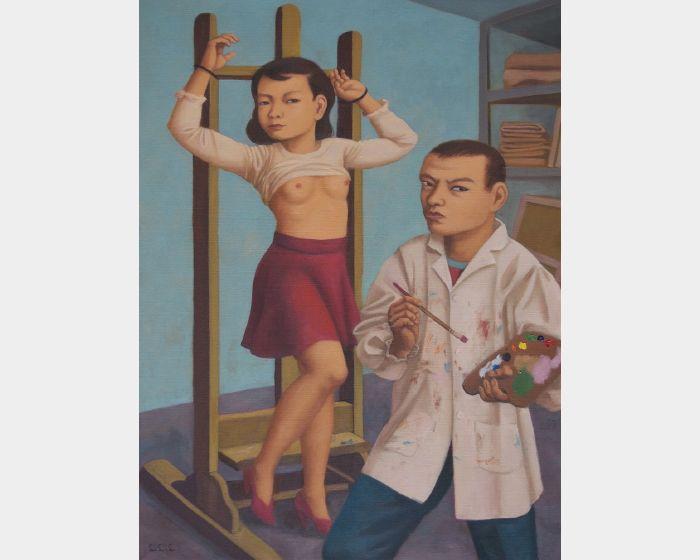畫家與模特兒