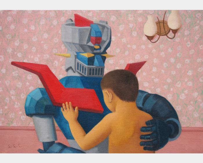 小男孩與機器人