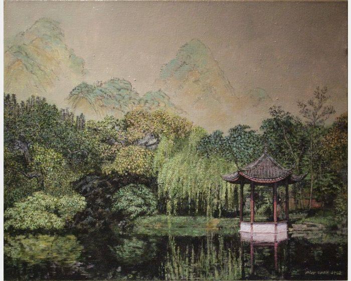 譚行健-湖心亭