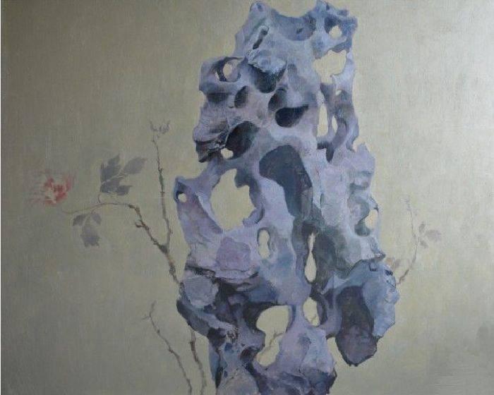 太湖石系列- 湖石牡丹