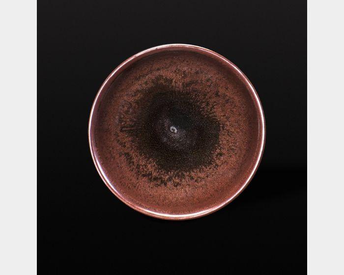 豹紋金沙碗