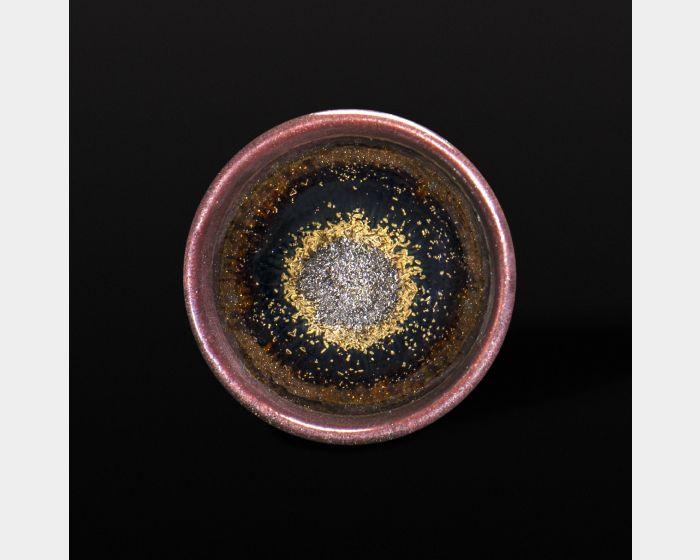 茶沫金沙茶杯