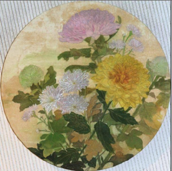 田中裕子-菊の花