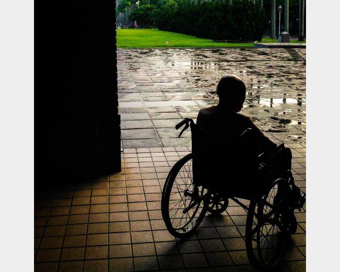 楊孟倫-輪椅