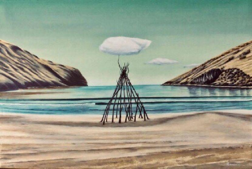 翁樹木(翁笠)-烤雲