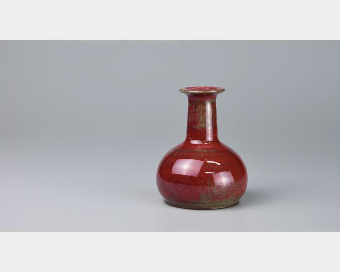 66膽瓶花器