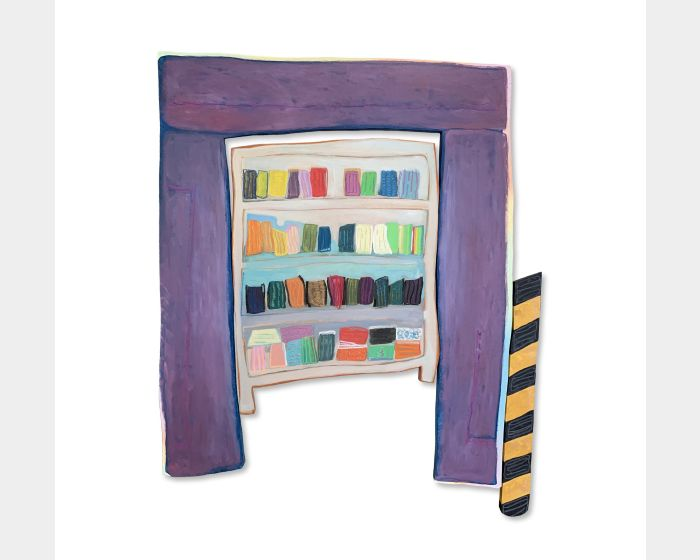 當書櫃變成口罩櫃 When bookshelves became mask shelves