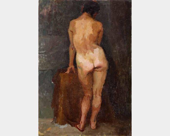 劉一層-裸女