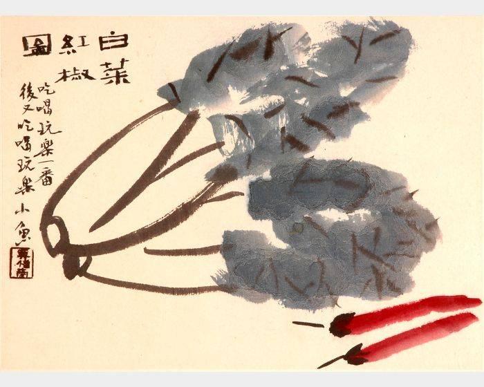 白菜红椒图