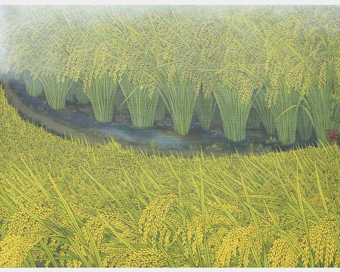 金穗 Field in Gold
