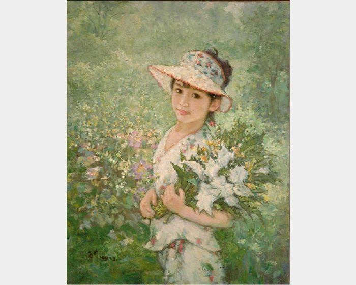 葉錫祚-花兒