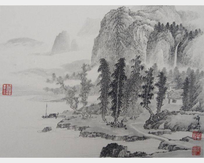 山水小畫1