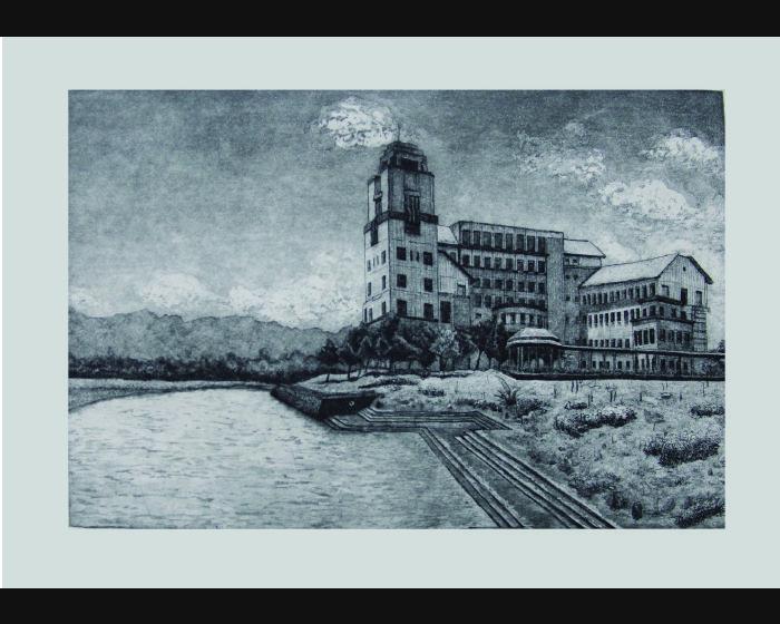 陳怡安-東華八景之一景-湖畔之美