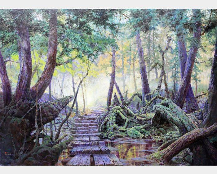郭明福-傾聽起霧的森林