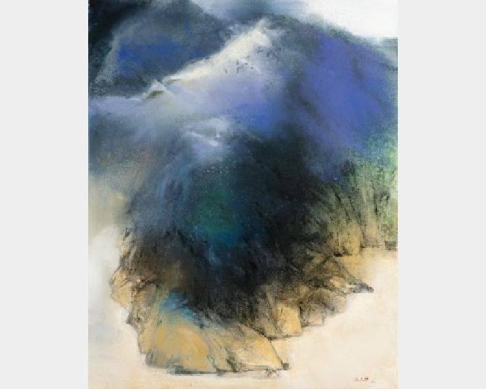 沈東榮-群山層巒