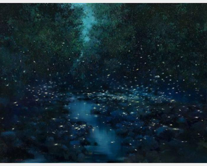 沈東榮-靜夜螢舞