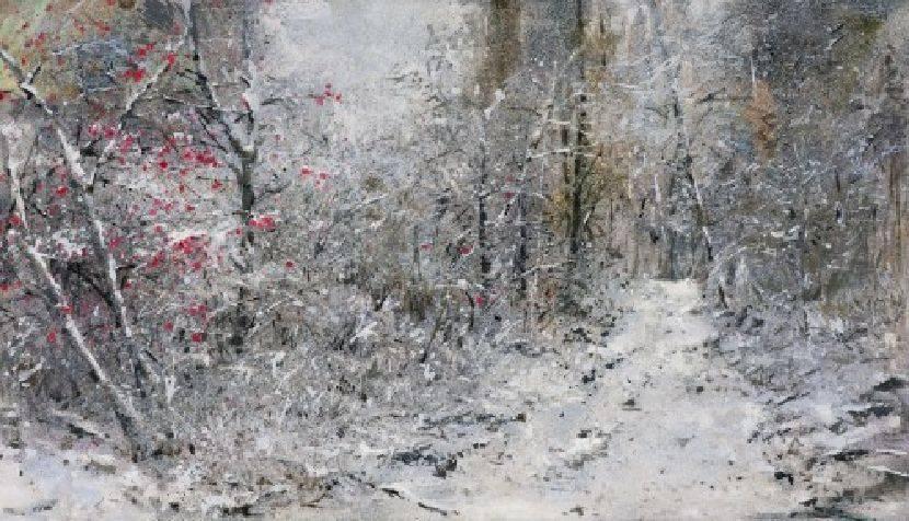 沈東榮-年初的一場雪