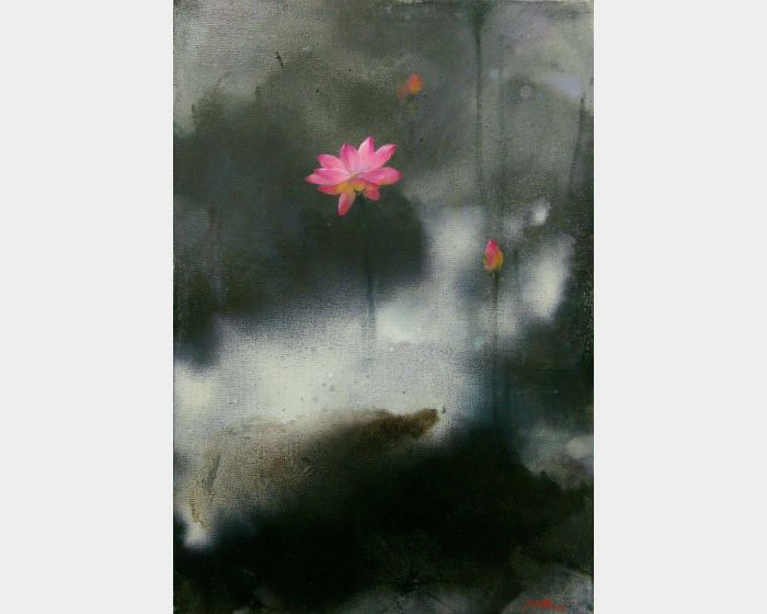 沈東榮-墨荷(04)