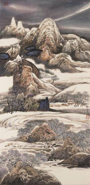 陳朝寶-訪友 - 嚴冬