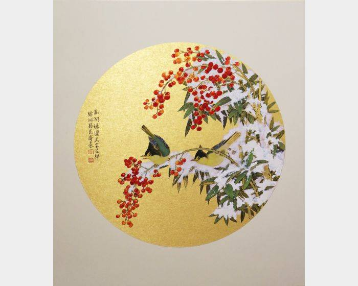 張克齊-玉潤珠圓天寶呈祥