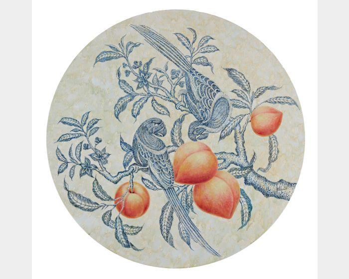 潘鈺-雙鸚蜜桃-Ⅱ