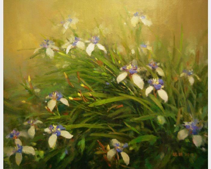 蘇瑞明-紫鳶花開