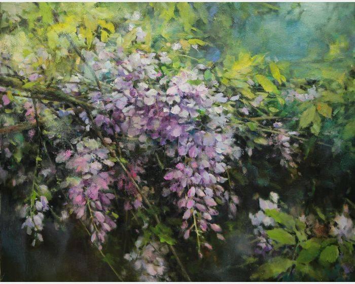 蘇瑞明-紫藤馨夢
