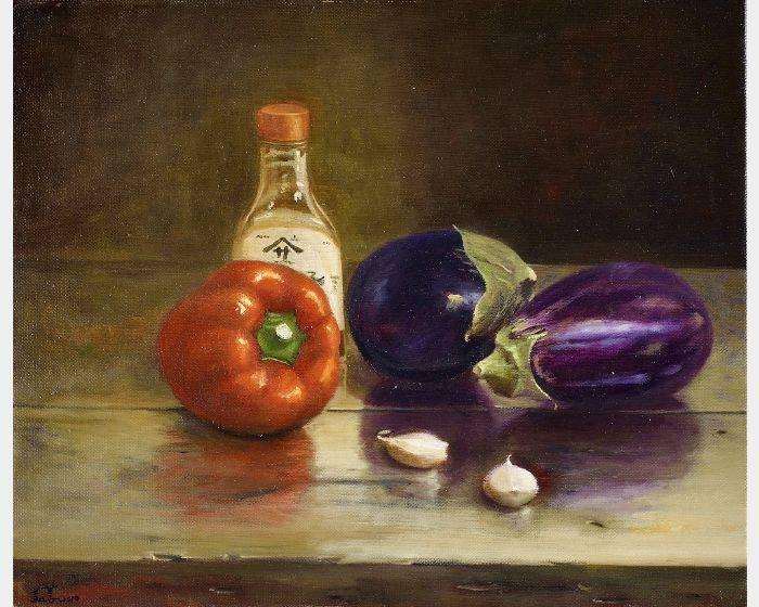 林美蕙-紅椒與茄子