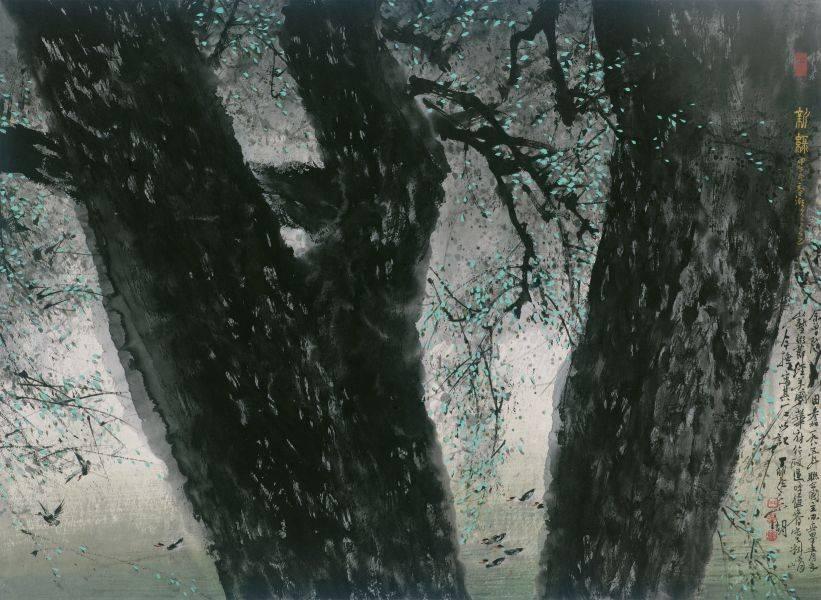 林章湖-新綠