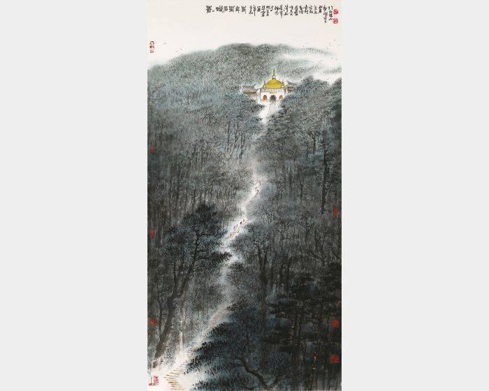 林章湖-蒼蒼峨嵋萬年寺