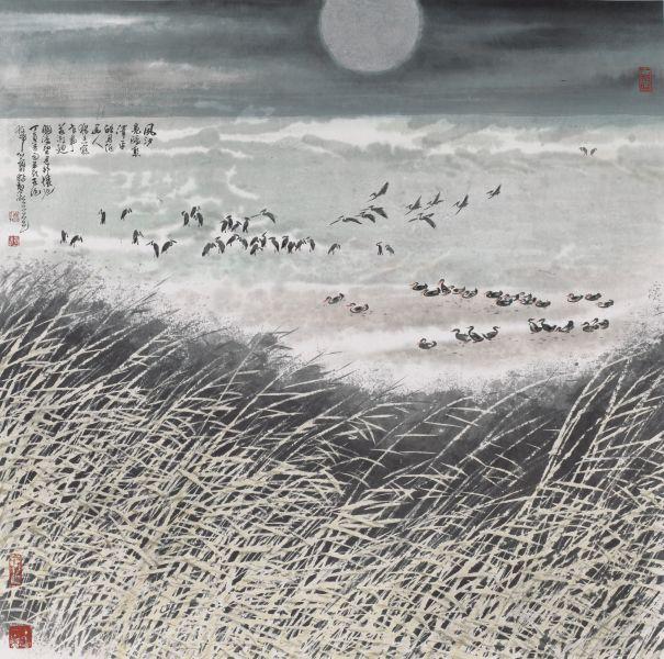 林章湖-關渡皓月