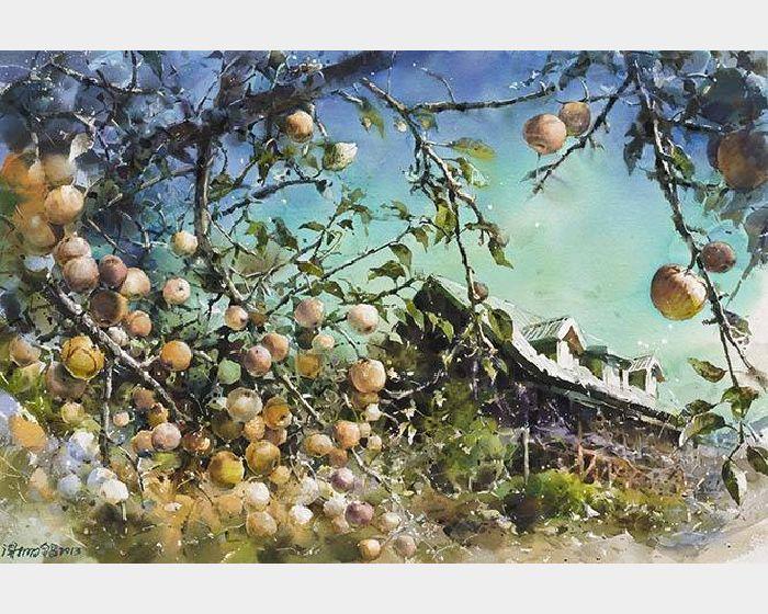 謝明錩-蘋果樹的春天