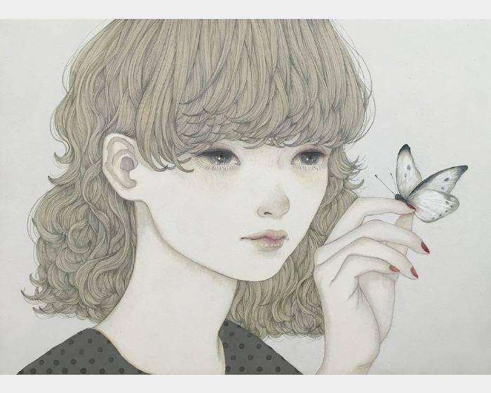 佐久間 友香-紋白蝶(白粉蝶white cabbage butterfly)