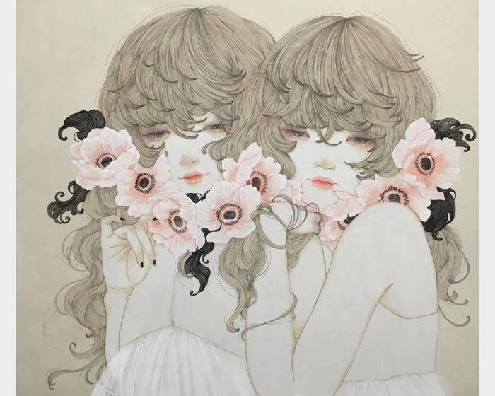 佐久間 友香-散り落ちる花(花落)