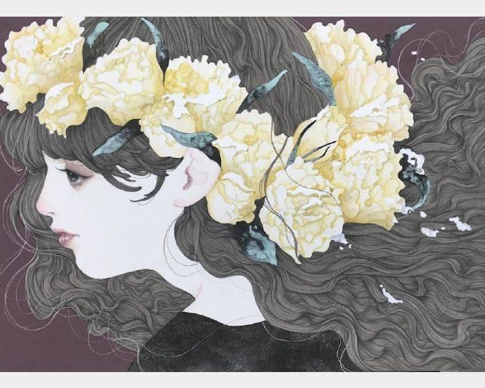 佐久間 友香-花の咲く季節(盲目な僕)