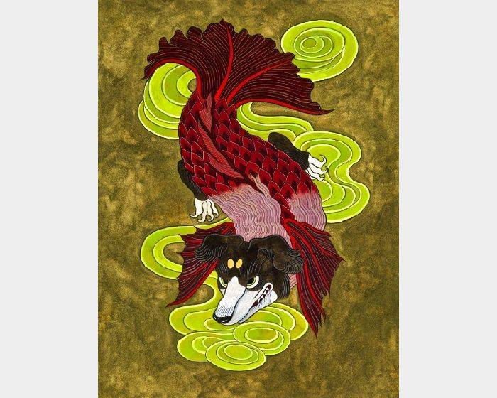 石黑 亞矢子-狗面魚(狗臉魚 a fish with a dog face)