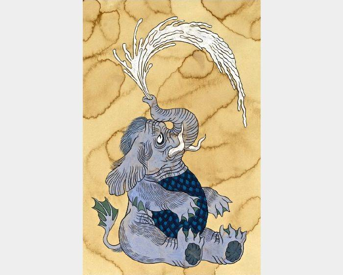 石黑 亞矢子-水象(水大象 a water elephant)