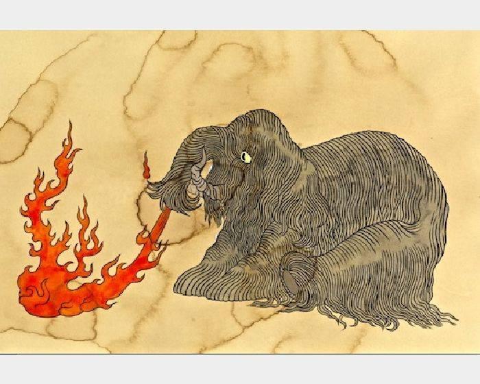 石黑 亞矢子-火象(火大象 a fire elephant)