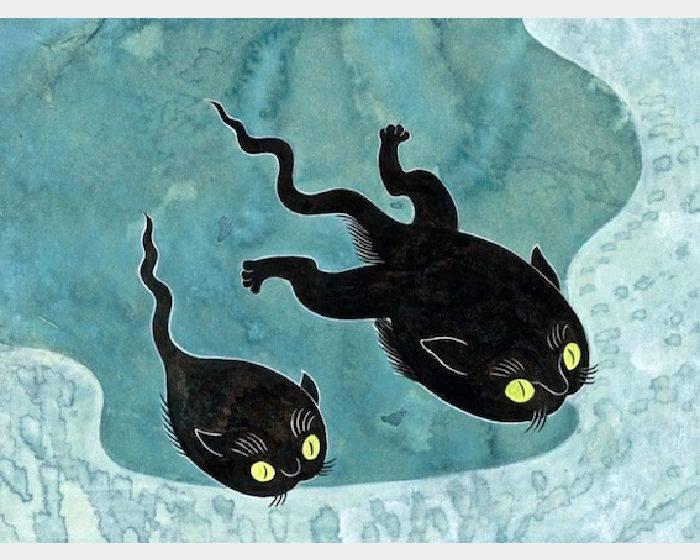 石黑 亞矢子-ねたまじゃくし(貓蝌蚪 a cat tadpole)