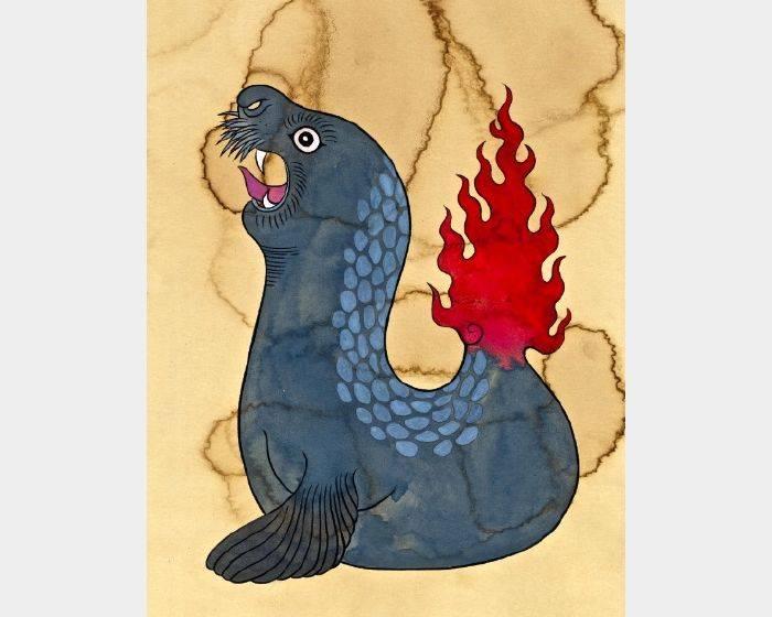 石黑 亞矢子-火海獣(a fire marine mammal)