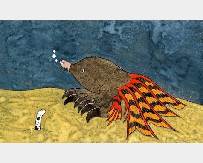 石黑 亞矢子-土竜魚(鼴鼠魚a mole fish)