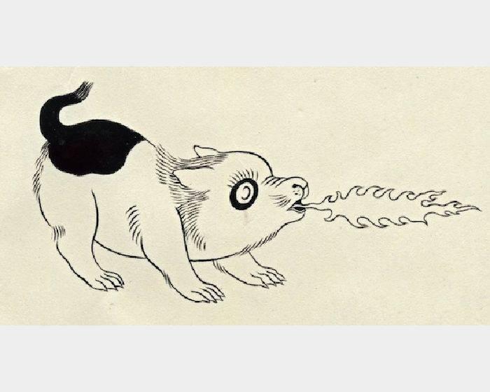 石黑 亞矢子-火炎子犬2 (火焰小狗2 a flame puppy 2)