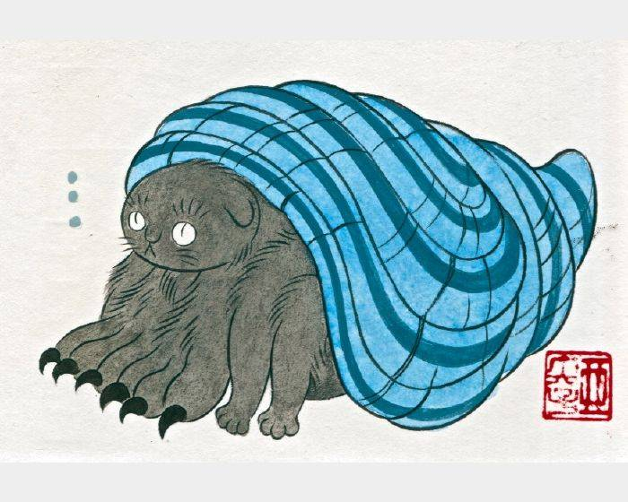 石黑 亞矢子-やど猫 (寄居蟹貓 hermit crab cat)