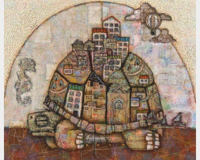 金丸悠兒-時間的都市 –烏龜–
