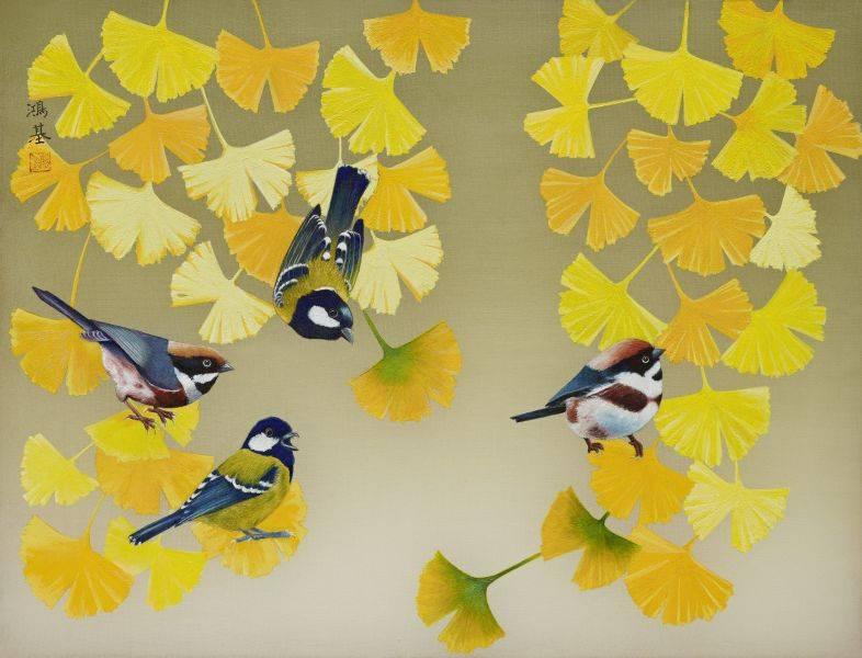 黃鴻基-群雀