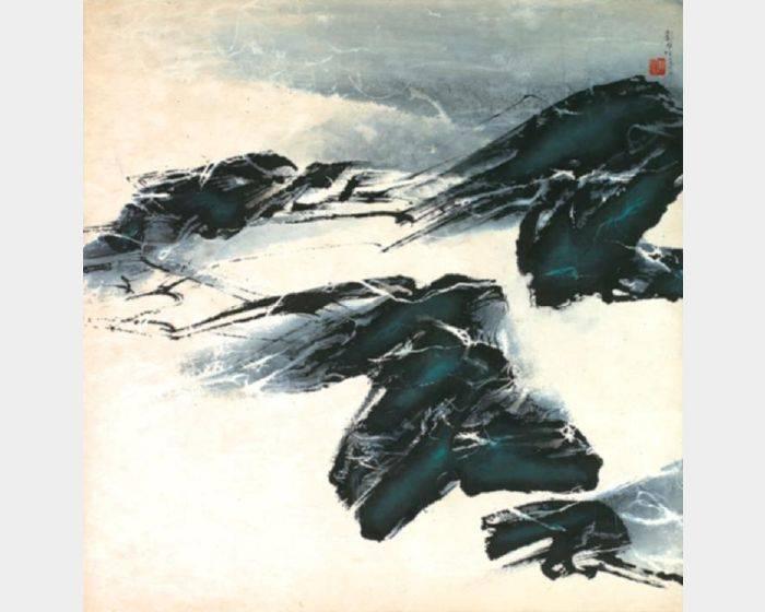 劉國松-冬日的思