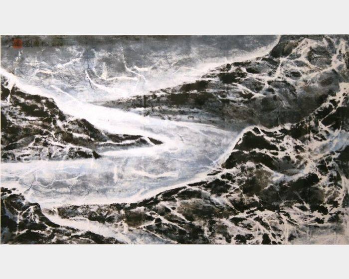 劉國松-羅茲冰河:西藏組曲