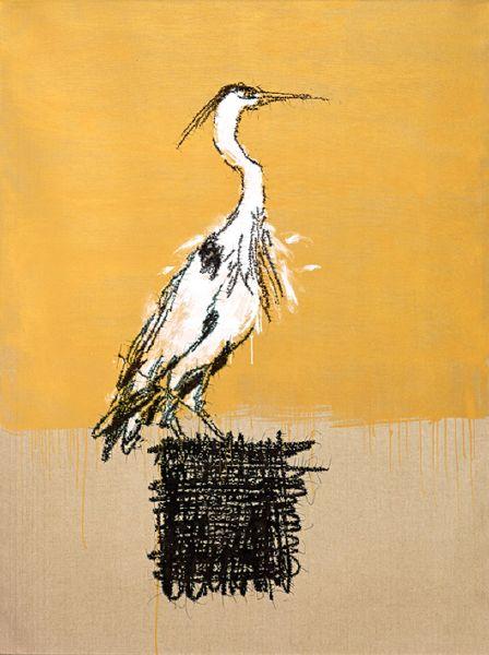 葉永青-畫鳥