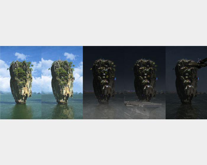李二男-循環 - 自然 - 人間 Ⅱ